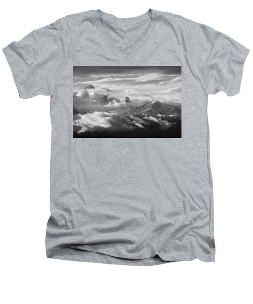Men's V-Neck T-Shirt featuring the photograph Cloud Art by Colleen Coccia