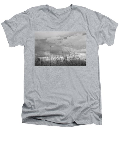 Men's V-Neck T-Shirt featuring the photograph Cloud Watching by Kathleen Grace