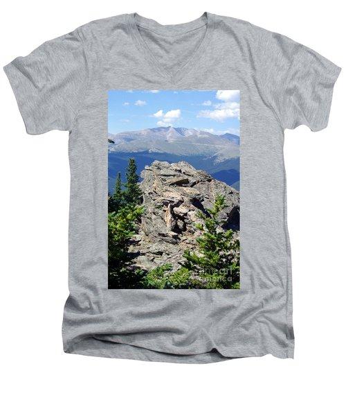 Men's V-Neck T-Shirt featuring the photograph Colorado 11 by Deniece Platt