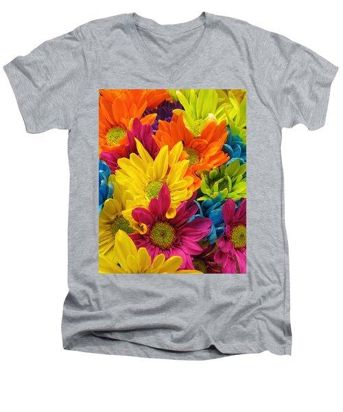 Colossal Colors Men's V-Neck T-Shirt