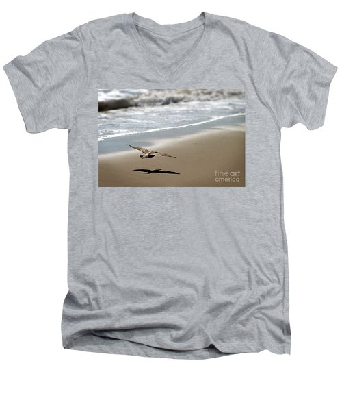 Coming In For Landing Men's V-Neck T-Shirt