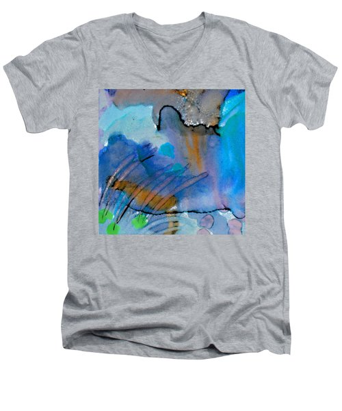 Coming Into Being II Men's V-Neck T-Shirt