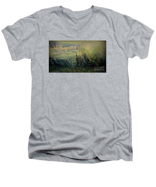 Colorado Colors Men's V-Neck T-Shirt