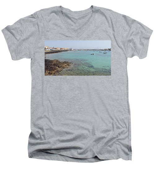 Corralejo Men's V-Neck T-Shirt