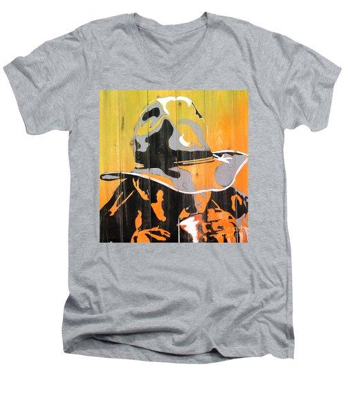Cowboy Coffee Men's V-Neck T-Shirt