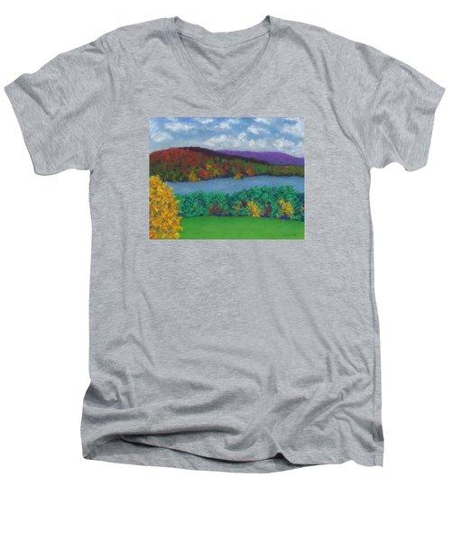 Crisp Kripalu Morning Men's V-Neck T-Shirt