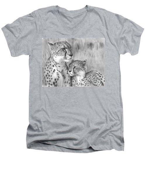Cuddle Men's V-Neck T-Shirt