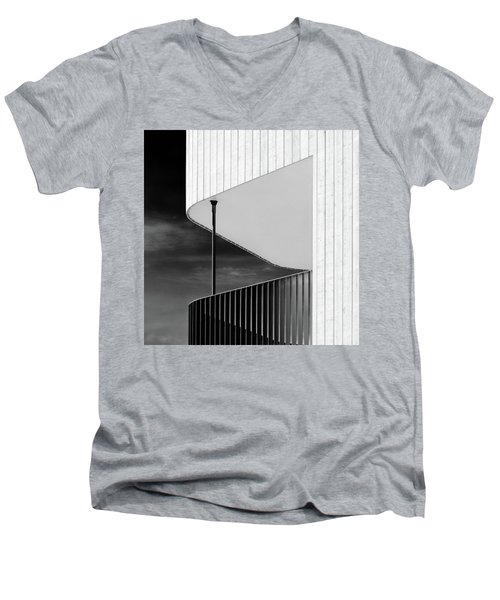 Curved Balcony Men's V-Neck T-Shirt