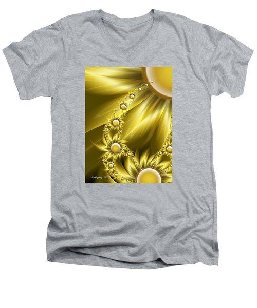 Daisy Sunshine Men's V-Neck T-Shirt
