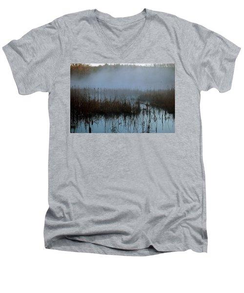 Daybreak Marsh Men's V-Neck T-Shirt