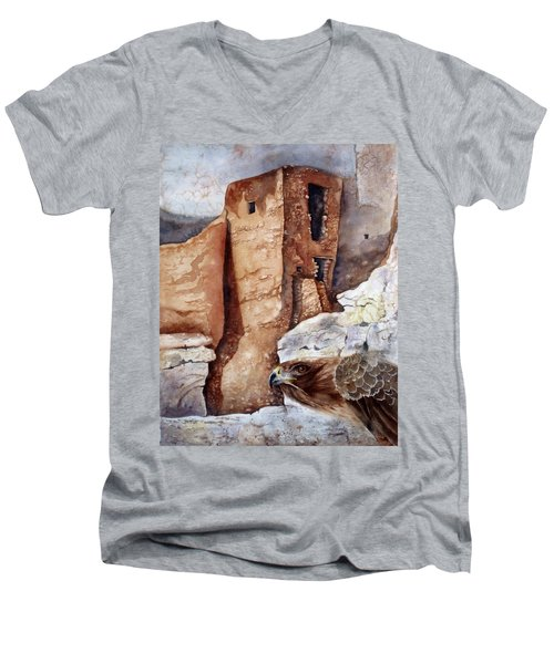 Desert Dwellers Men's V-Neck T-Shirt