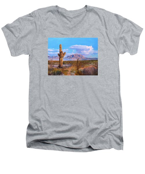 Desert Scene 4 Men's V-Neck T-Shirt