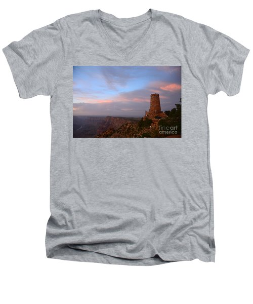 Desert View Watchtower Men's V-Neck T-Shirt