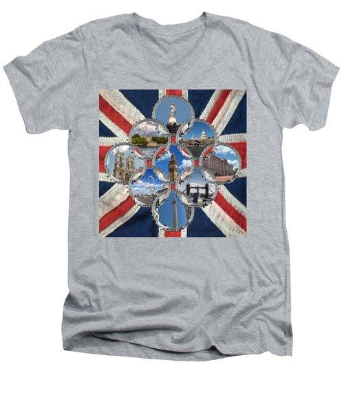Diamond City Men's V-Neck T-Shirt