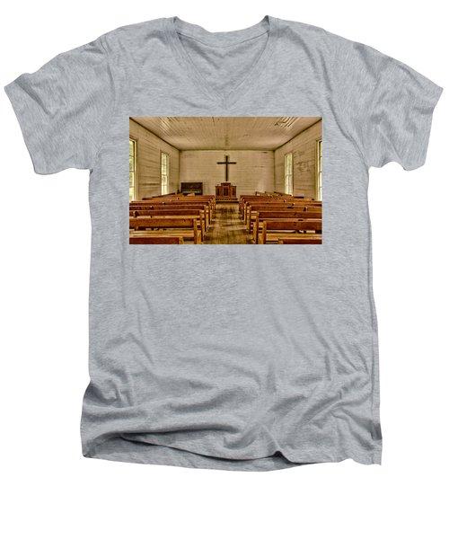 Down The Aisle Men's V-Neck T-Shirt