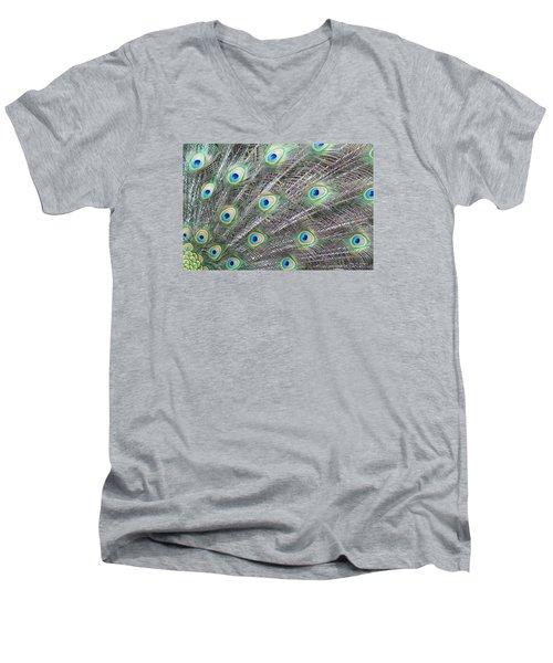 Dragon Eyes Men's V-Neck T-Shirt