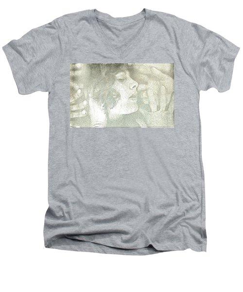 Dreaming Men's V-Neck T-Shirt by Rory Sagner