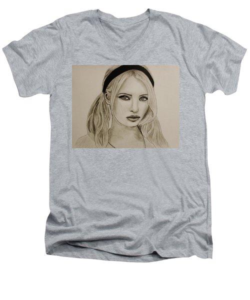 Emily Men's V-Neck T-Shirt