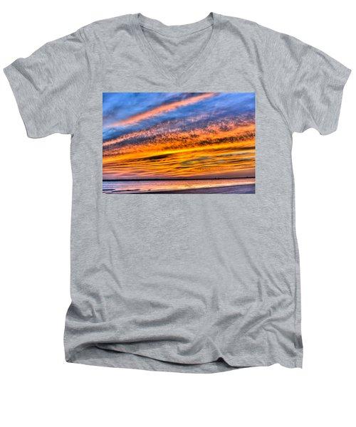 Endless Color Men's V-Neck T-Shirt