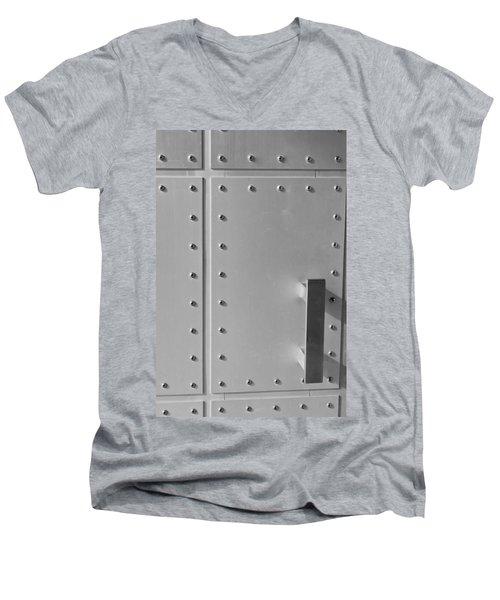 Entrance Secured Men's V-Neck T-Shirt