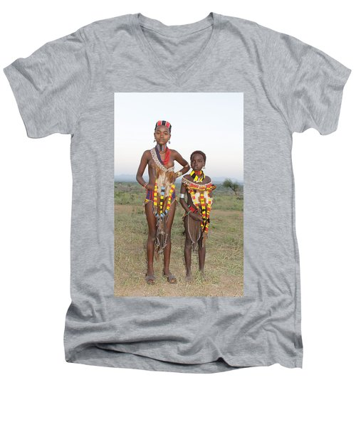 Ethiopia-south Sisters Men's V-Neck T-Shirt
