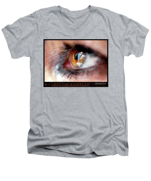 Eye Don't Know Men's V-Neck T-Shirt