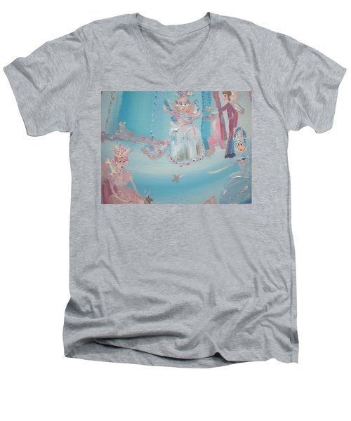 Fairy Godmother Convention Men's V-Neck T-Shirt