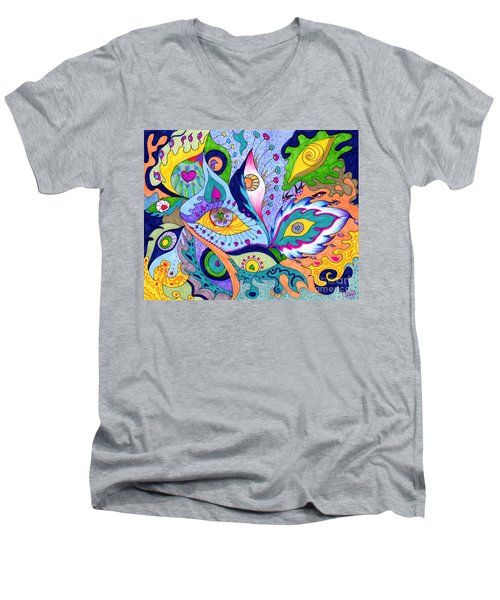 Fantas Eyes Men's V-Neck T-Shirt