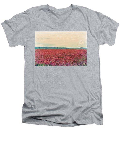 Fields Of Heaven Men's V-Neck T-Shirt