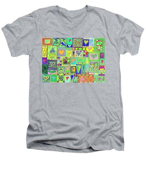 find U'r Love found    v18 Men's V-Neck T-Shirt