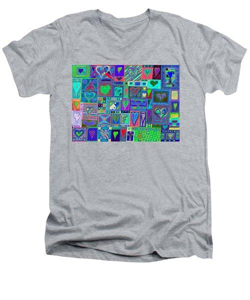 find U'r Love found    v13 Men's V-Neck T-Shirt