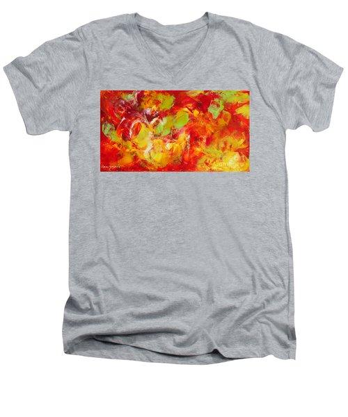 Fireball Men's V-Neck T-Shirt