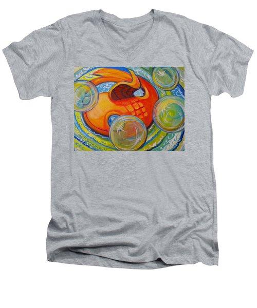 Fish Fun Men's V-Neck T-Shirt