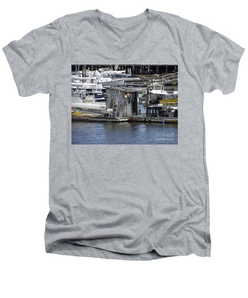 Fish Shack Men's V-Neck T-Shirt