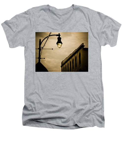 Fisher Street Facades Men's V-Neck T-Shirt