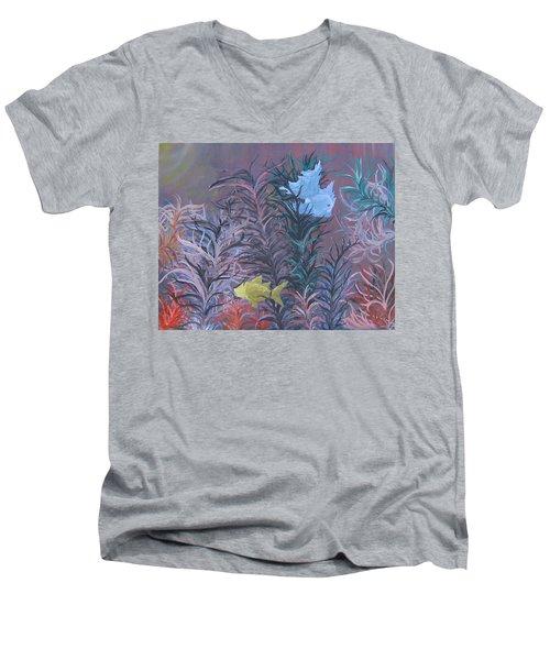 Fishes Men's V-Neck T-Shirt