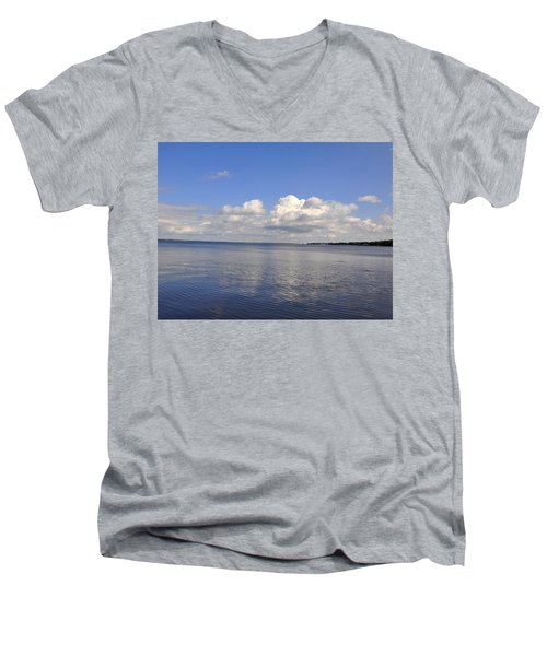 Floridian View Men's V-Neck T-Shirt