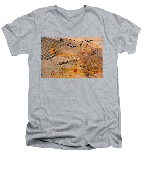 Flying Crane Men's V-Neck T-Shirt