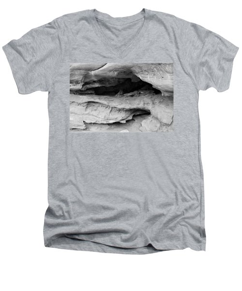 Men's V-Neck T-Shirt featuring the photograph Formation by Colleen Coccia