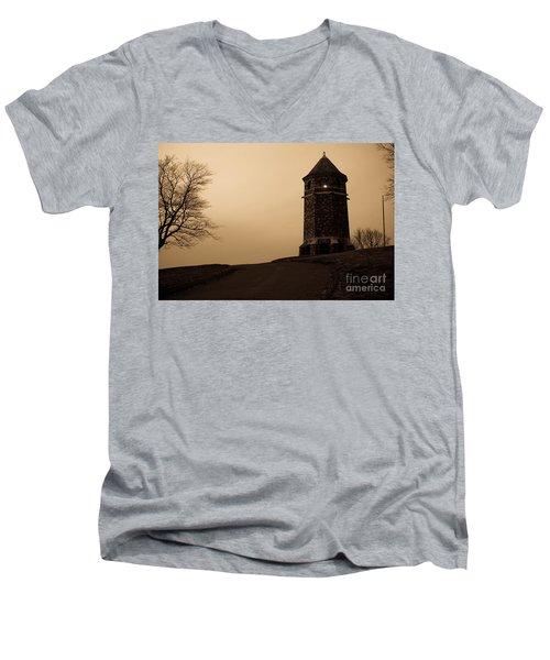 Fox Hill Tower Men's V-Neck T-Shirt