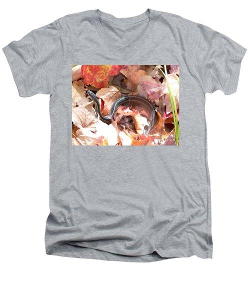 Garter Snake Men's V-Neck T-Shirt