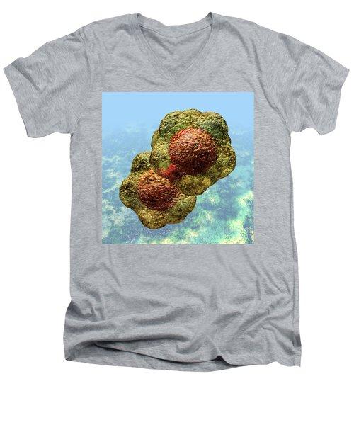 Geminivirus Particle Men's V-Neck T-Shirt