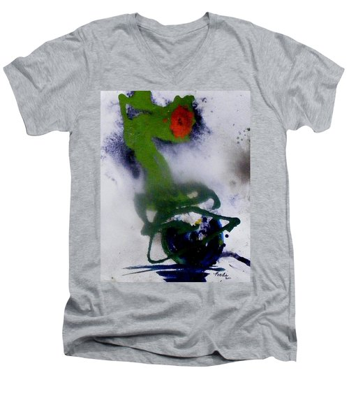 Ghost Flower Men's V-Neck T-Shirt