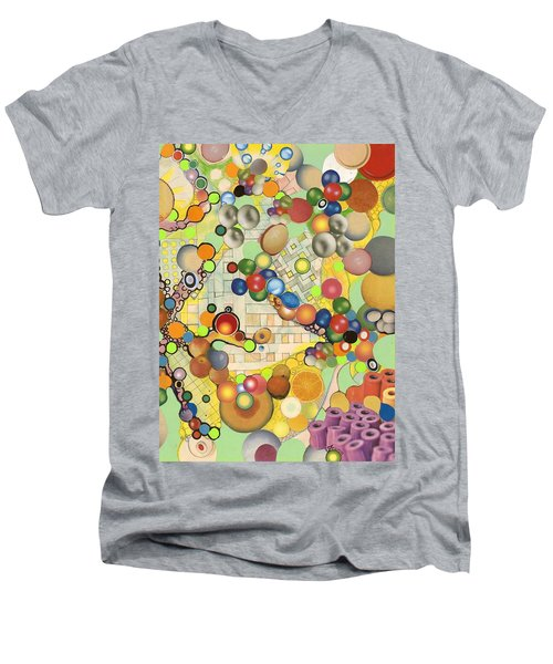 Globious Maximous Men's V-Neck T-Shirt by Douglas Fromm