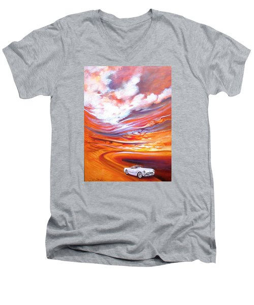 Corvette Heaven Men's V-Neck T-Shirt