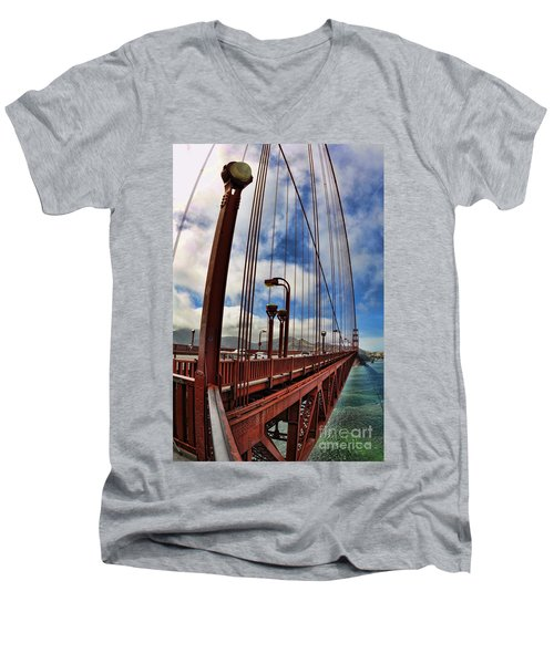 Golden Gate Bridge - 7 Men's V-Neck T-Shirt
