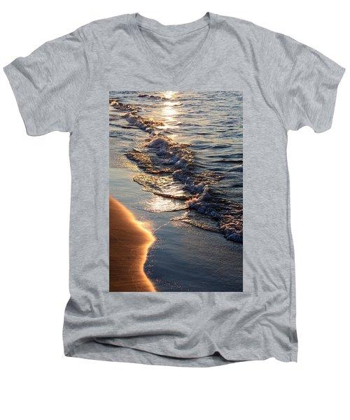 Golden Sand Men's V-Neck T-Shirt