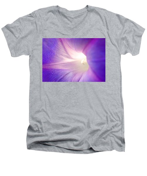 Good Morning Glory Men's V-Neck T-Shirt