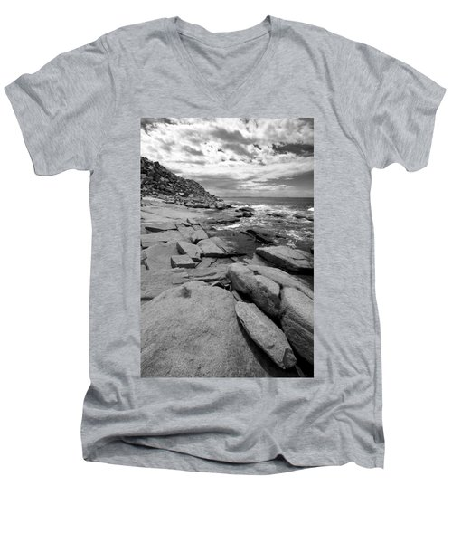 Granite Shore Men's V-Neck T-Shirt