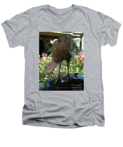 Grill Turkey Anyone Redneck Style Men's V-Neck T-Shirt